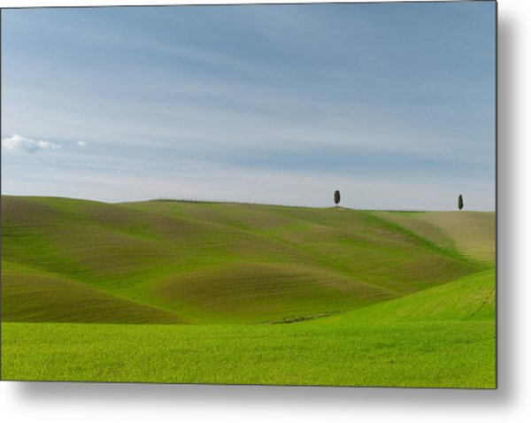 Metal Print featuring the photograph Val D'orcia, Toscana by Mirko Chessari