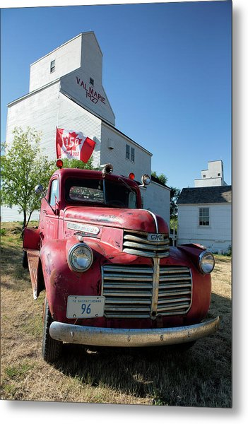 Metal Print featuring the photograph Val Marie, Sk by David Buhler
