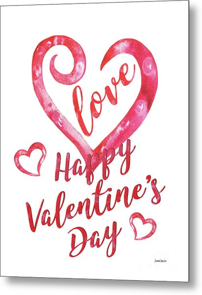 Valentine Metal Print