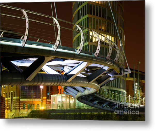 Valentines Bridge, Bristol Metal Print