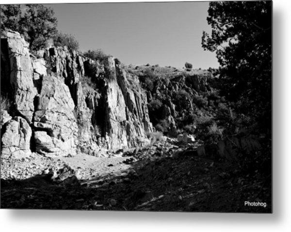 Valles Canyon Metal Print