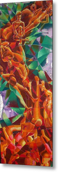 Valley Of Abstraction Metal Print by Ken Meyer