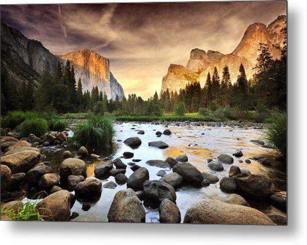 Valley Of Gods Metal Print by John B. Mueller Photography