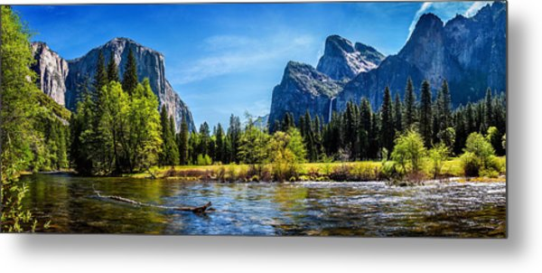 Tranquil Valley Metal Print