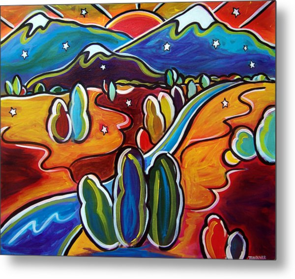 Valley Of The Stars Metal Print