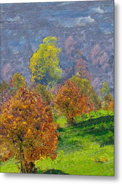 Valley Of The Trees Metal Print