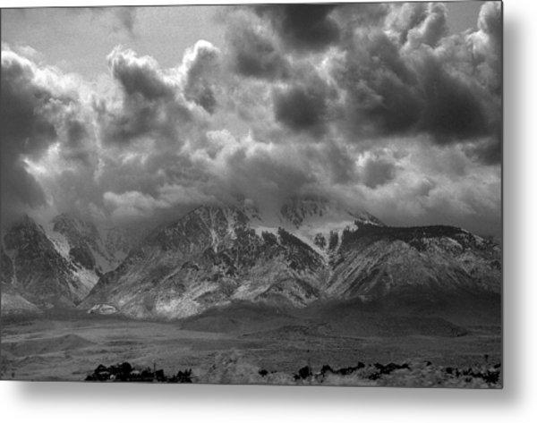 Valley Storm Metal Print by John Derousseau