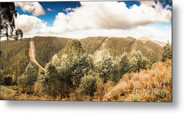 Valley Wonder Metal Print