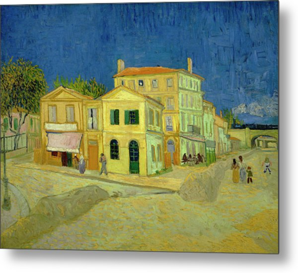 Van Gogh Yellow House Painting by Vincent