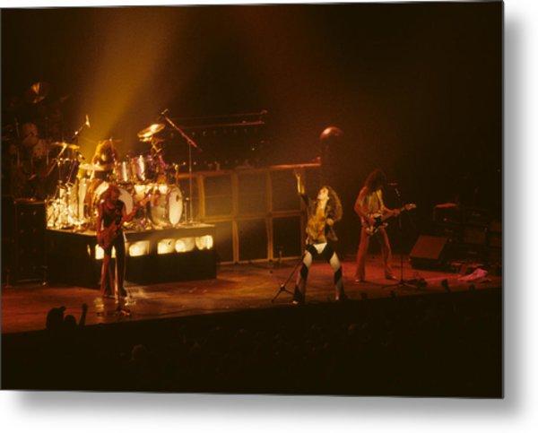 Van Halen Opening For Black Sabbath Metal Print