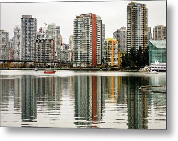 Vancouver Bc Sky Line Metal Print