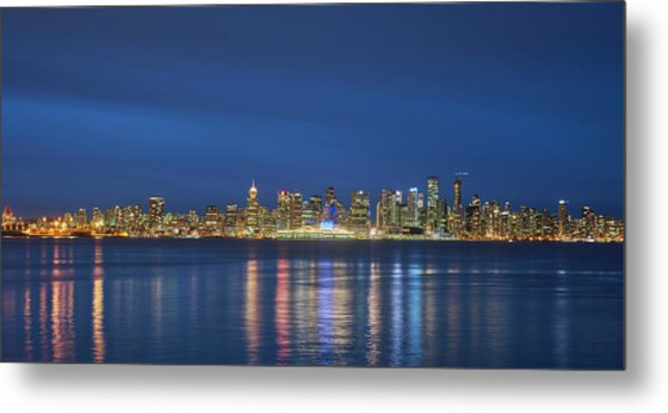 Vancouver Cityscape Metal Print by Mauricio Ricaldi