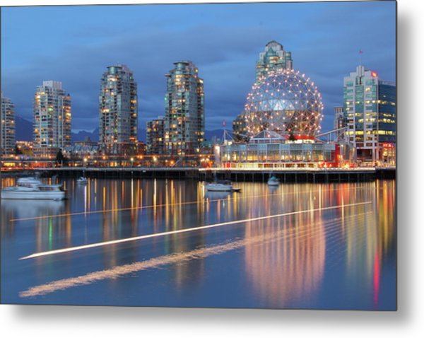 Vancouver Science World Metal Print