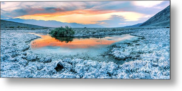 Vanilla Sunset Metal Print