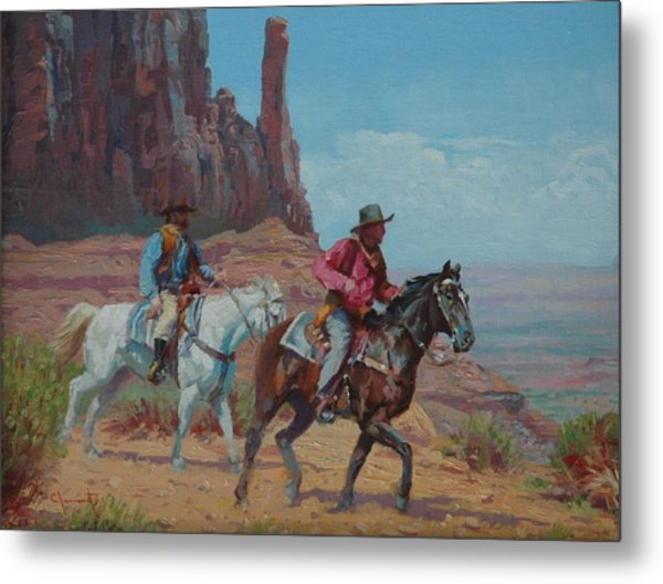 Vantage Point Metal Print by Jim Clements
