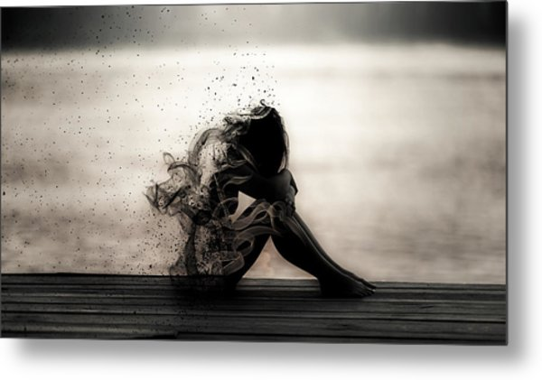 Vapours Of Sadness Metal Print