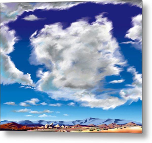 Vasquez Cloud Metal Print by Steve Beaumont