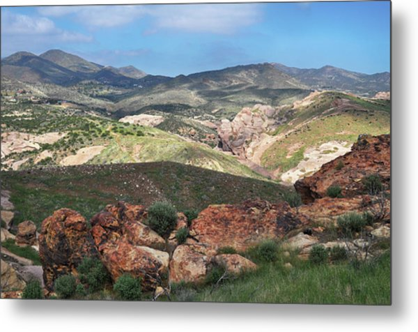 Vasquez Rocks Park Metal Print