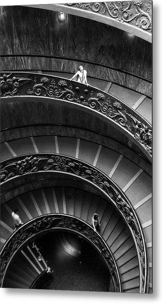 Vatican Stairs Metal Print