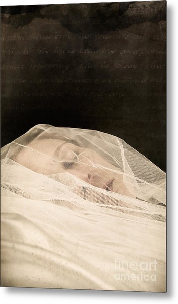 Veiled Metal Print