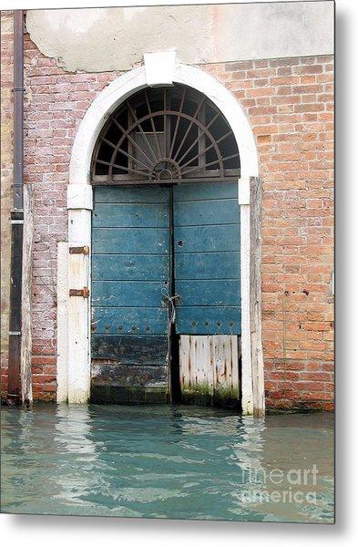 Venetian Door Metal Print