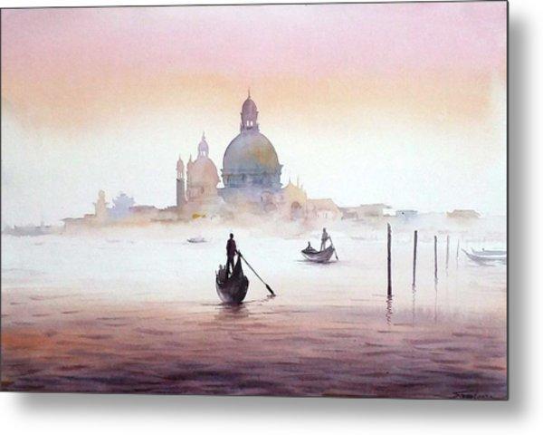 Venice At Early Morning Metal Print