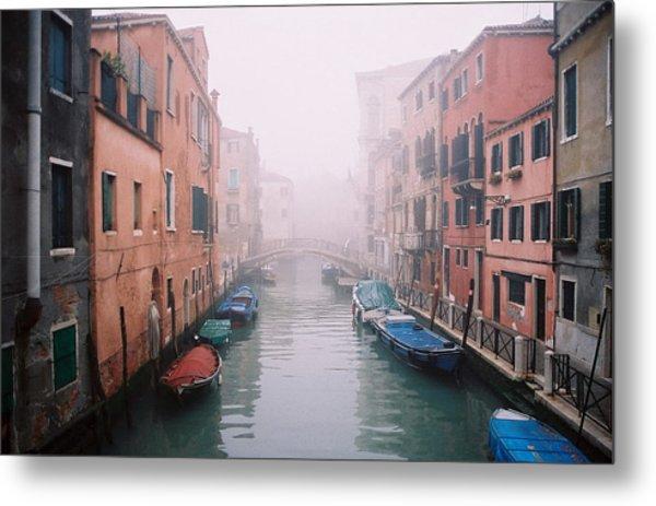 Venice Canal I Metal Print by Kathy Schumann