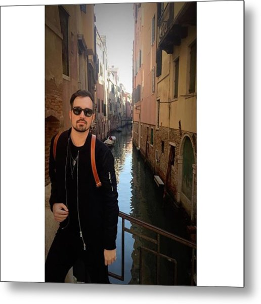 venice. Finally Made It :) Metal Print by Dustin Belt