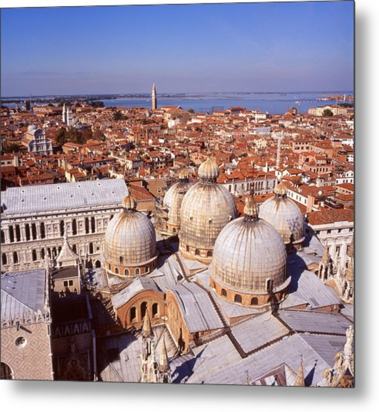 Venice From Above Metal Print