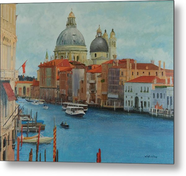 Venice Grand Canal I Metal Print