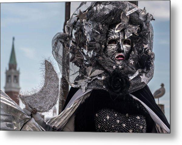 Venice Mask 19 2017 Metal Print