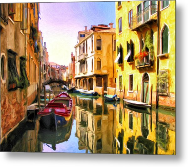Venice Morning Metal Print