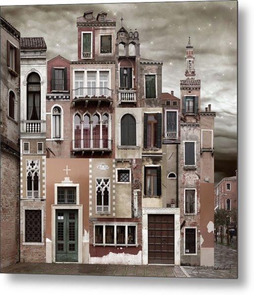 Venice Reconstruction 2 Metal Print