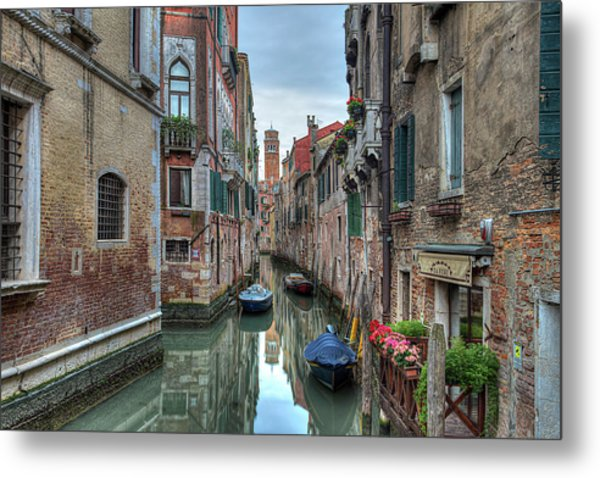 Venetian Morning Metal Print