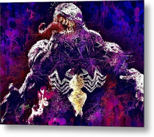 Venom Metal Print