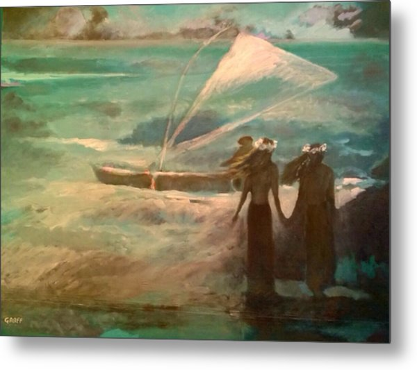 Vento Alle Hawaii Metal Print