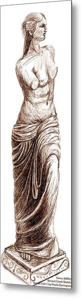 Venus Demilo Metal Print by Khaila Derrington