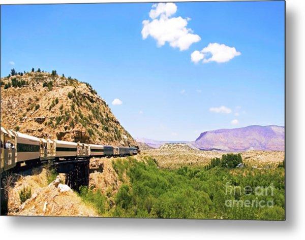 Verde Valley Train  Metal Print