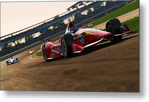 Verizon Indycar Series - 2 Metal Print by Andrea Mazzocchetti