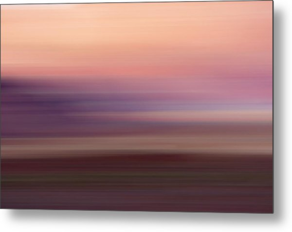 Vermilion Cliff At Dusk Metal Print