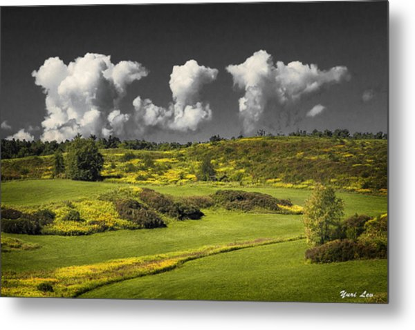 Vermont Landscape # 1 Metal Print
