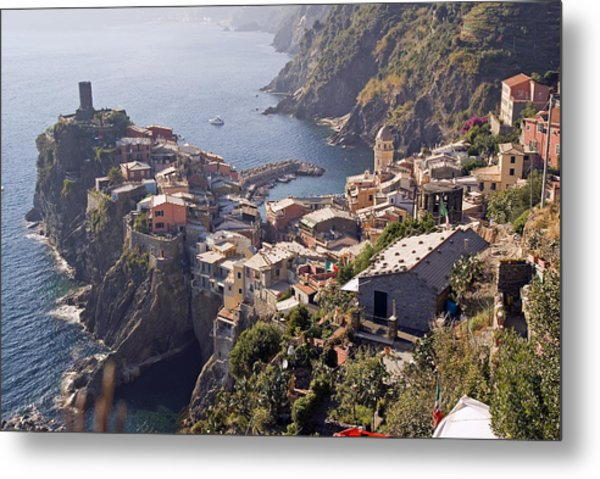 Vernazza And The Cinque Terre Metal Print