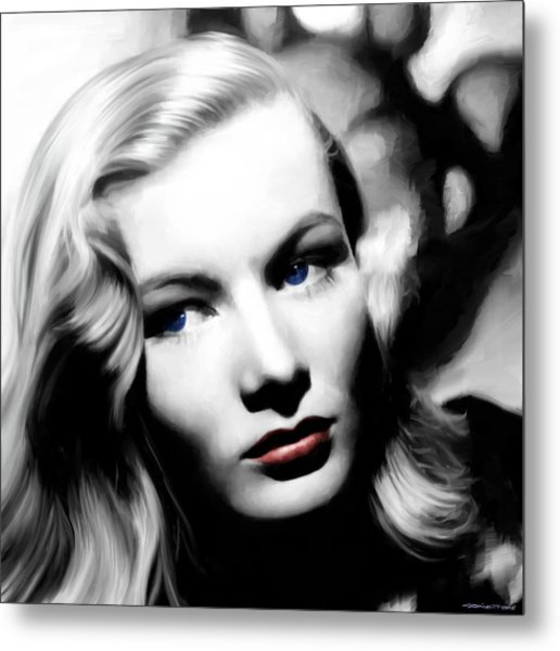 Veronica Lake Portrait #1 Metal Print