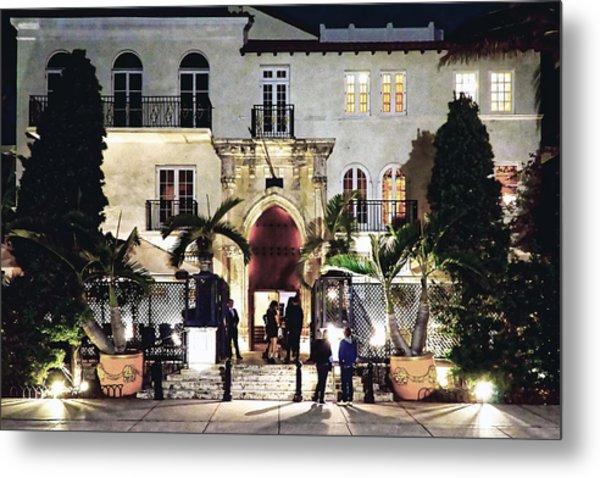 Versace Mansion South Beach Metal Print