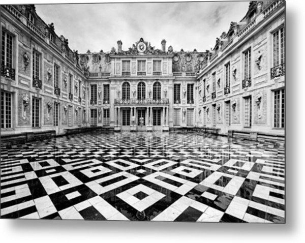 Versailles Architecture Paris Metal Print