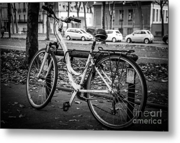 Versailles Bicycle Metal Print