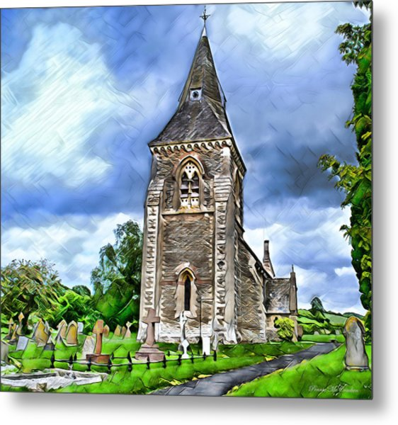 Very Old Church Metal Print