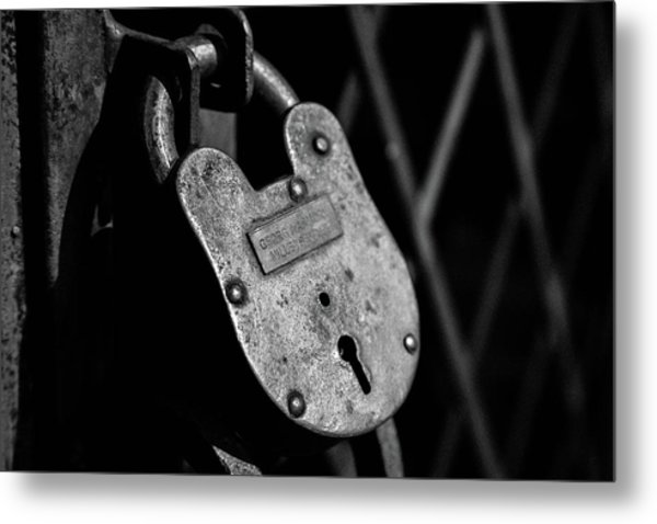 Metal Print featuring the photograph Very Secure by Doug Camara