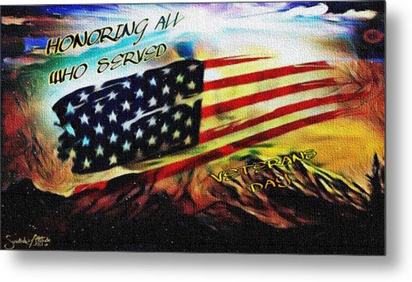 Veterans Day Metal Print