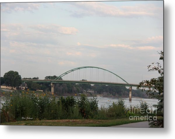 Vetrans Memorial Bridge Metal Print
